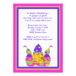 Bounce House Invitations: Whimsy Girls