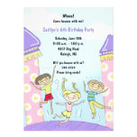 Bounce House Party Invitations: Pink