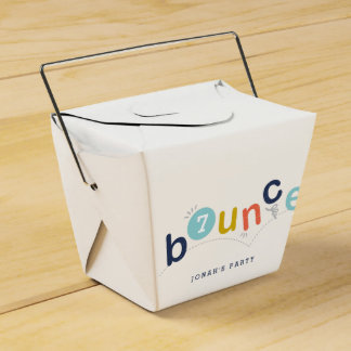 Bounce  | Party favor take out box