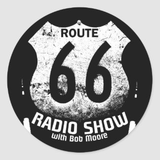 Bounce Radio Route 66 Round Sticker