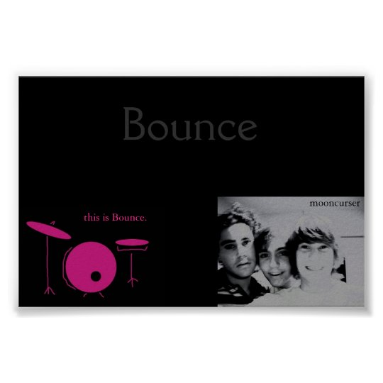 Bounce the Band Poster