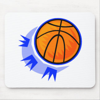 Bounce the Basketball Mouse Pad