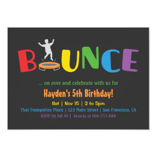 bounce invitations