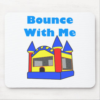 Bounce With Me Moonwalk Mouse Pad