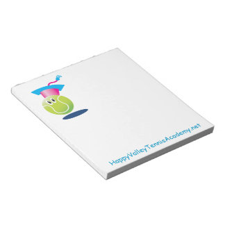 Bouncee™ smiling tennis ball_student of the game notepad