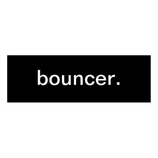 Bouncer Business Card