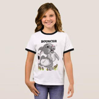 Bouncer Rabbit Ringer T-Shirt