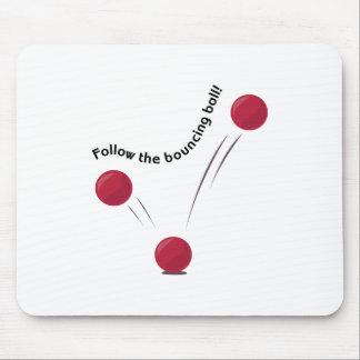 Bouncing Ball Mousepad