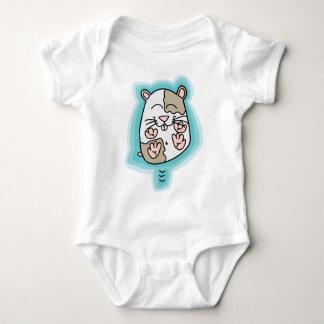 Bouncing Hamster Baby Bodysuit