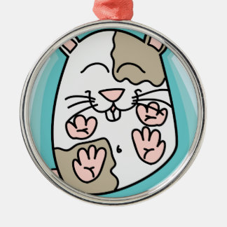 Bouncing Hamster Christmas Ornament