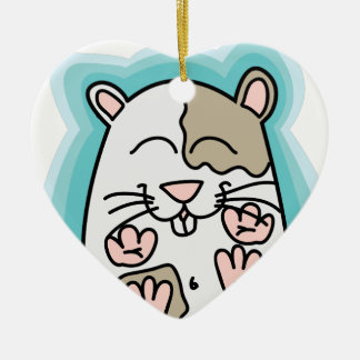 Bouncing Hamster Christmas Ornament