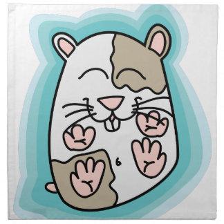 Bouncing Hamster Napkin