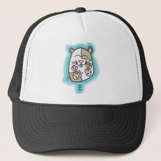 Bouncing Hamster Trucker Hat