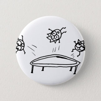 Bouncing Mathberries 6 Cm Round Badge