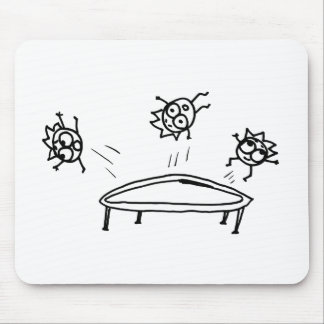 Bouncing Mathberries Mousepads