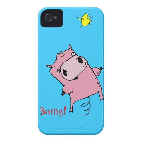 Bouncing Piggy iPhone 4 case + credit card holder