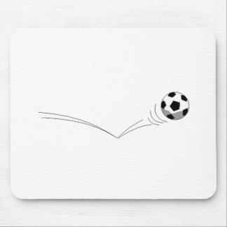 Bouncing Soccer Ball Mousepad