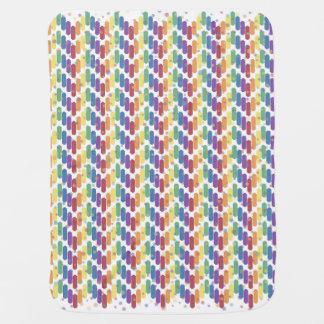 Bouncing Stripes Baby Blanket