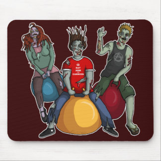 Bouncing Zombies, mousepad Mouse Pad