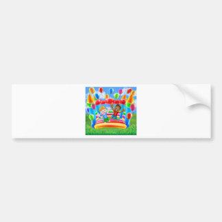 Bouncy Castle Fun Bumper Sticker