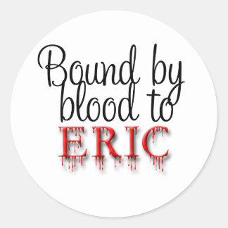 bound by blood round sticker