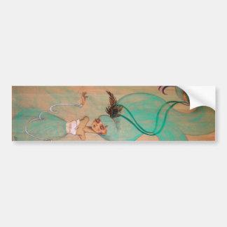 Bound Girl Bumper Sticker