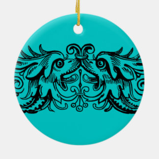 Bound Monsters Round Ornament