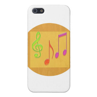 Bound to Sound Good - Dancing Music Symbols iPhone 5 Cases