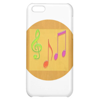 Bound to Sound Good - Dancing Music Symbols Cover For iPhone 5C