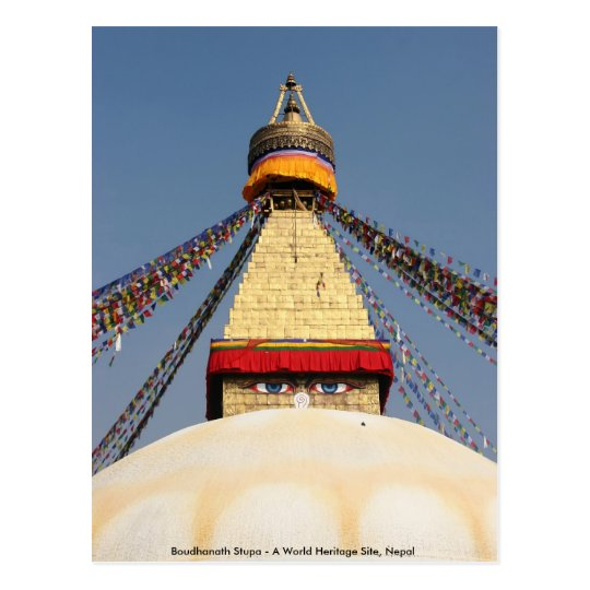 Boundhanath Stupa - A World Heritage site in