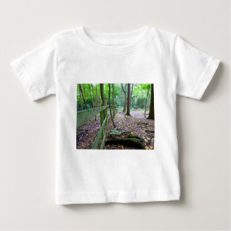 Boundry to the woods baby T-Shirt