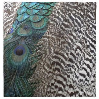 Bountiful Peafowl Napkin