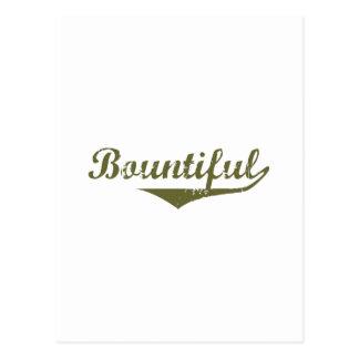 Bountiful Revolution tee shirts Postcards