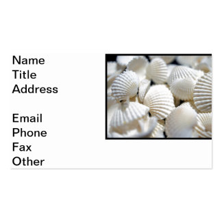 Bounty of Shells Pack Of Standard Business Cards