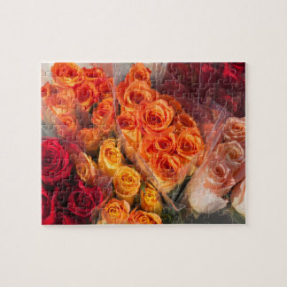 Bouqets of Roses Photo Puzzle