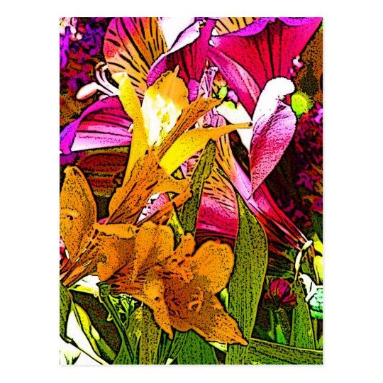 Bouquet_01 Postcard