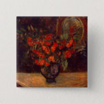 Bouquet, 1884 15 cm square badge