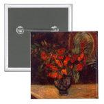 Bouquet, 1884 15 cm square badge