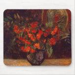 Bouquet, 1884 mouse pad
