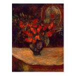Bouquet, 1884 postcard