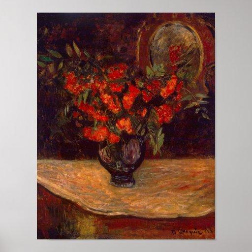 Bouquet, 1884 print