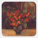 Bouquet, 1884 square sticker
