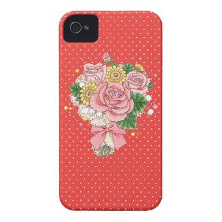 Bouquet BlackBerry Bold case (red)