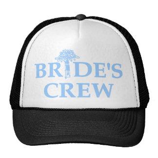 Bouquet Bride s Crew Trucker Hat