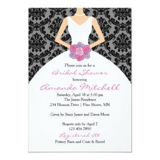 Bouquet Bride Shower Invitations │ Light Skin