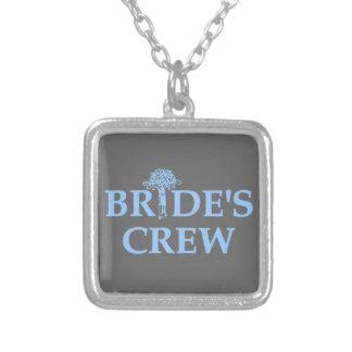 Bouquet Bride's Crew Necklaces
