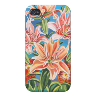 Bouquet in Border II iPhone 4 Covers