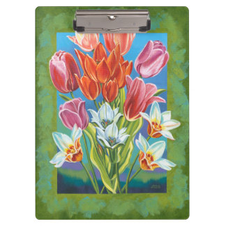 Bouquet in Border III Clipboard