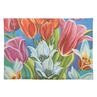 Bouquet in Border III Placemat