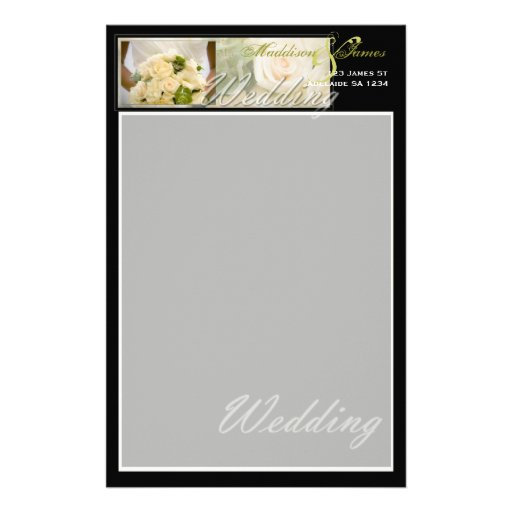 Bouquet Inspired Stationery